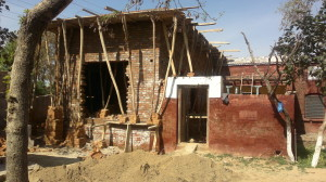 Maternity unit - building in progress