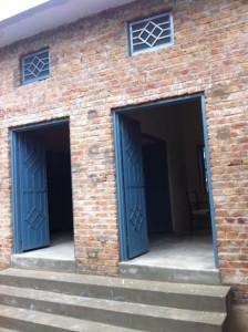 entrance to maternity unit