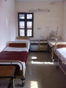 maternity unit bed area